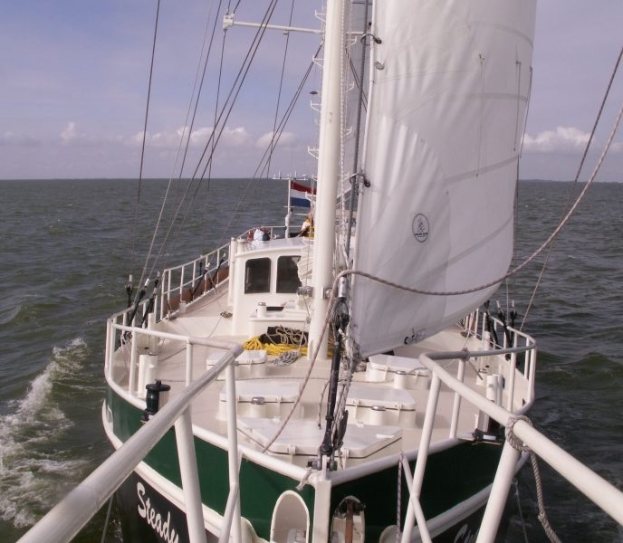 sailing to Scotland, emission free travel
